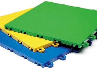 piastrelle modulari colorate