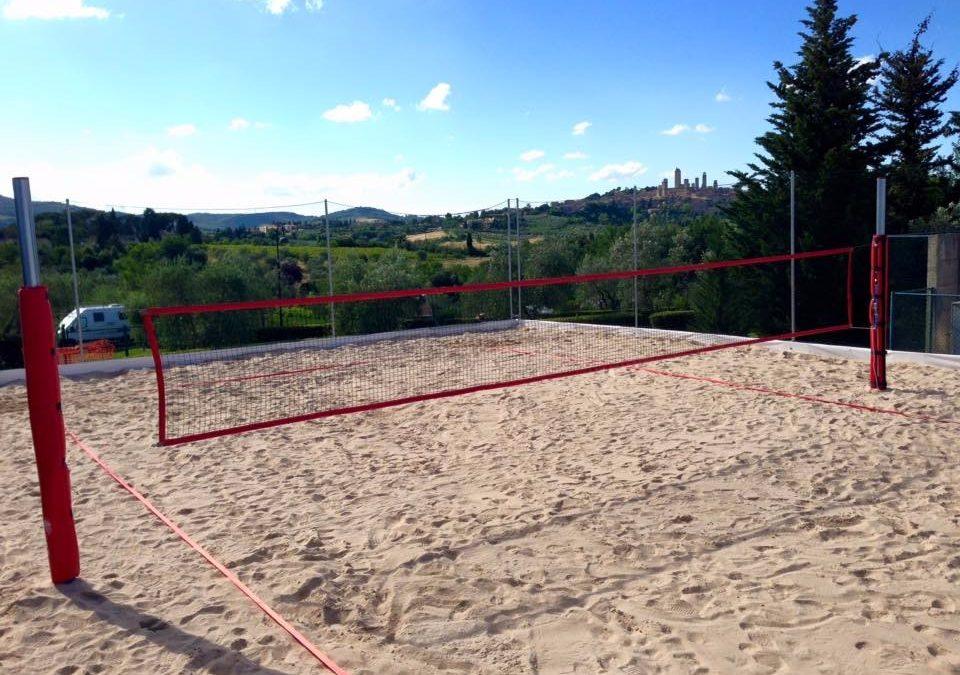 san gimignano beach volley